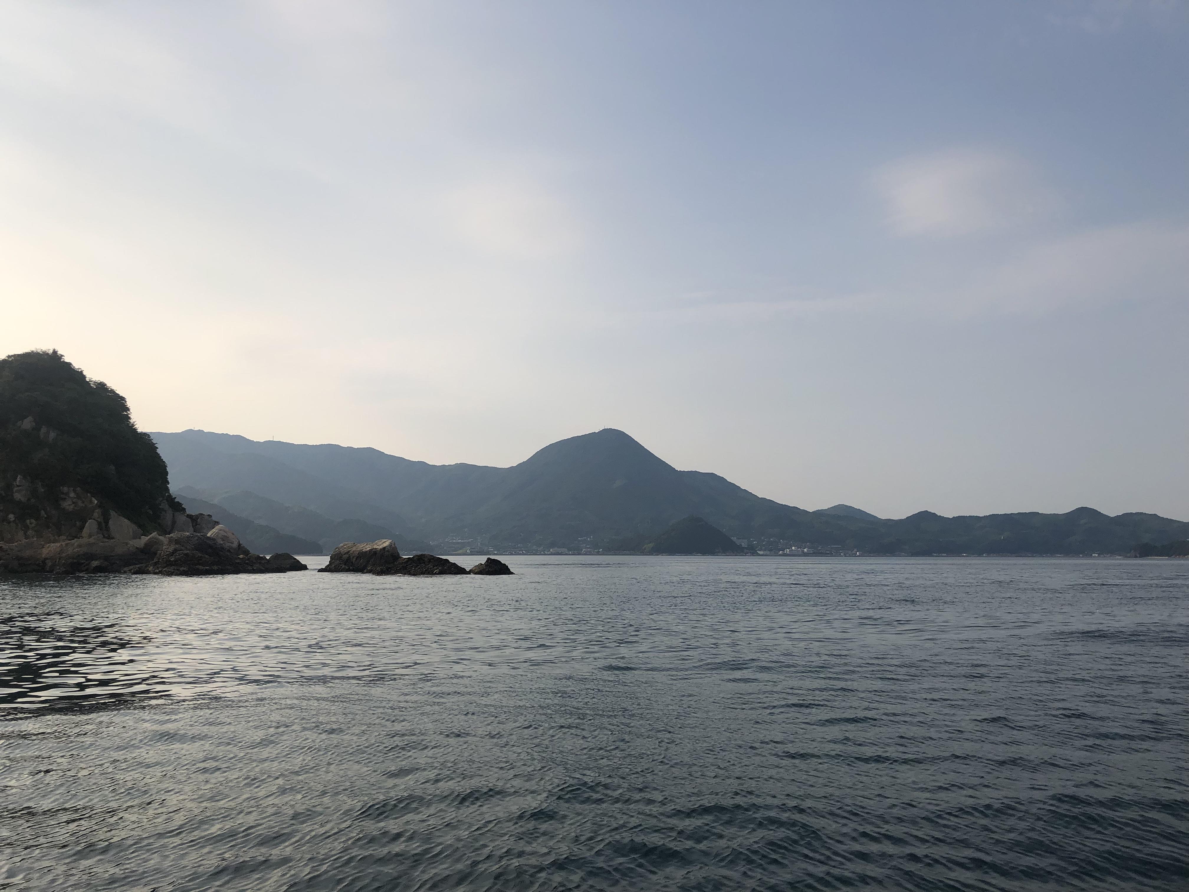 周防大島にて